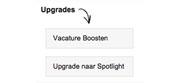 Vacature-Upgrades nu beschikbaar!